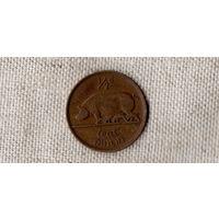 Ирландия 1/2 пенни 1928 /дата разделена//свинка/фауна//(AR)