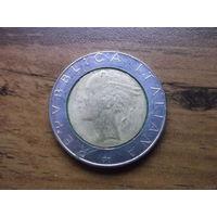 Италия 500 лир 1987