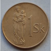 Словакия 1 крона, 1993 г.