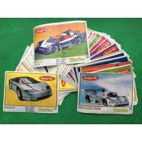 Вкладыши от жвачек коллекция 90-х годов. Turbo. Лот 4