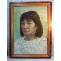 Картина,портрет женщины,холст,полотно
