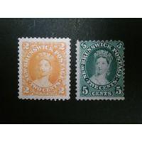 Британская колония Brunswick 1860г. Возможна продажа по отдельности.