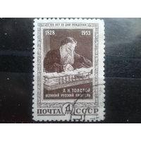 1953 Лев Толстой Михель-6,0 евро гаш.