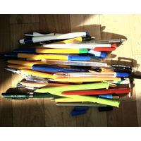 Ручки шариковые-разные б\у