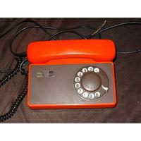Дисковый телефон , Чехословацкая ССР , работает
