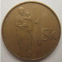 Словакия 1 крона 1994 г.