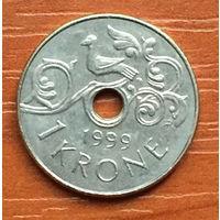 Норвегия, 1 крона 1999