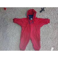 Комбинезон детский красный с синим