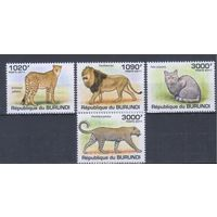 [1814] Бурунди 2011. Фауна.Дикие кошки.