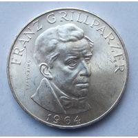 Австрия 25 шиллингов 1964 Франц Грильпарцер