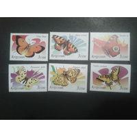Киргизия 2000 Бабочки полная серия