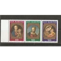 Сан-Марино 1983 Живопись
