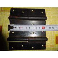 Петли дверные 110 мм левые 10 шт. (9+1)