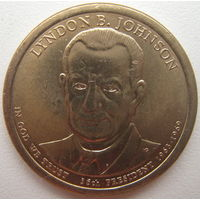 США 1 доллар 2015 г. 36-й президент Линдон Б. Джонсон
