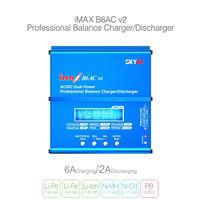 Зарядно-балансиров очное устройство Skyrc Imax B6 AC для NiCd/NiMh/LiIon/LiFe/LiPo /Pb аккумуляторов (ОРИГИНАЛ) со встроенным блоком питания 12В 5А