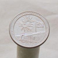 США 25 центов 2013 D Мэриленд - Форт Мак-Генри