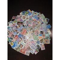 Суперлот! Чистые марки всего Мира. 200 шт. Отличное состояние. 99% без повтора.