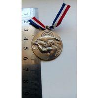 Медаль Спорт Жетон Арт деко Стрельба