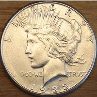 1 доллар 1923г. Мирный доллар.