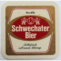 Подставка под пиво Schwechater Bier /Австрия/