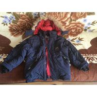 Куртка зимняя р. 110-122