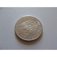 Центральная Африка. 1 франк 2003 год  KM#8