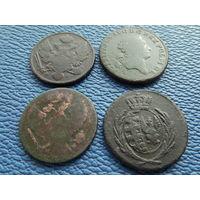 3 гроша 1810 г , 1767 г, 1833 г , 1839 г.