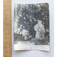 Фотография Новый Год Дети  1950 год