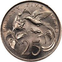 Ямайка 25 центов 1987 UNC