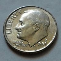 10 центов (дайм) США 1994 P