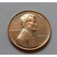 1 цент США 1973 D