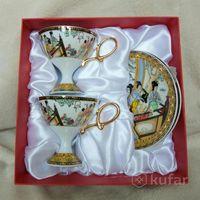 Чайная пара фарфор / подарочный набор
