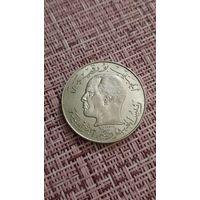 Тунис 1/2 динара 1968 г