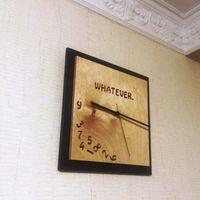 Настенные часы из массива Whatever