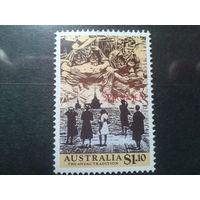 Австралия 1990 военный блок ANZAC