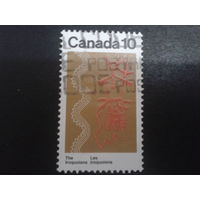 Канада 1976 искусство индейцев-ирокезов