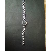Часы с браслетом Луч  (б\у)