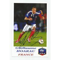 Guillaume Houarau(Франция). Фотография с живым автографом.