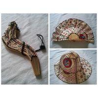 Летняя шляпа - веер, трансформер, классная необычная штука!