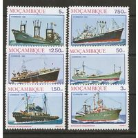 Мозамбик 1981 Корабли