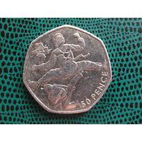 50 пенсов, Великобритания, 2011,