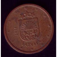 2 цента 2014 год Латвия