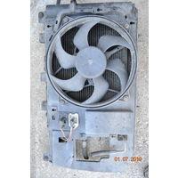 Радиатор с вентилятором ситроен