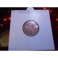 Канада 1 цент 1950 KM#41