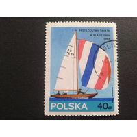 Польша 1965 парусный спорт