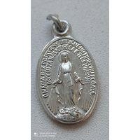 Нательник католической 1830 идеальное состояние