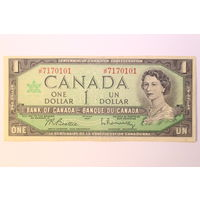 Канада, 1 доллар 1967 год. - ТОРГ по МНОГИМ Лотам !!! -