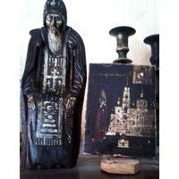 Иконка и статуэтка Нил Столбенский 19 век