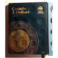 Альбом для монет 2 доллара Канада