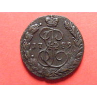 1 копейка 1789 ЕМ медь